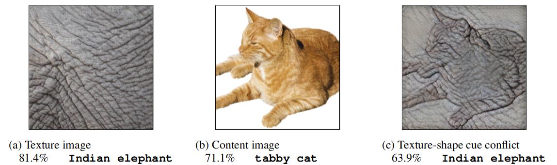 Cue-conflict images introduced by Geirhos et al.
