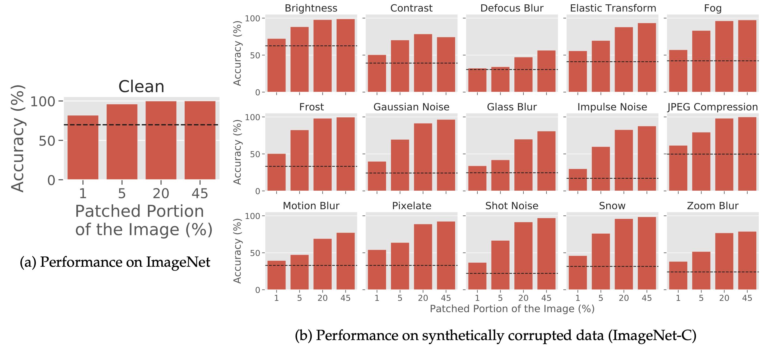 Performance on ImageNet and ImageNet-C